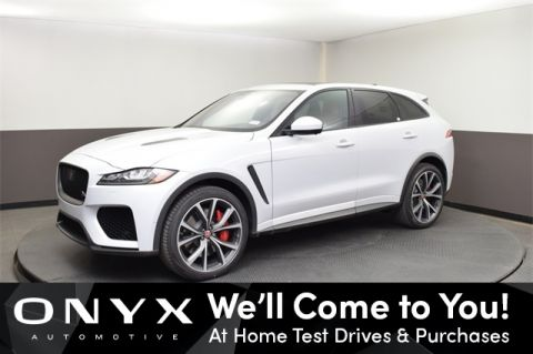New 2020 Jaguar F-PACE SVR